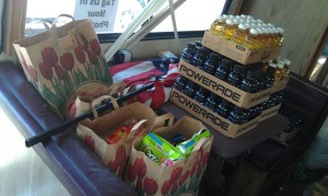 Donated food from Fuller Foods